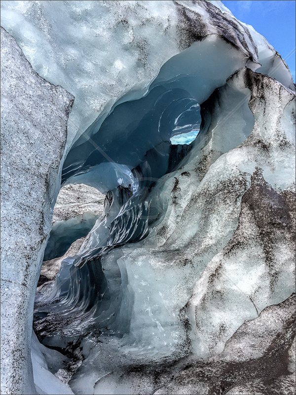 Ice Cave by Calvin Downes - 3rd