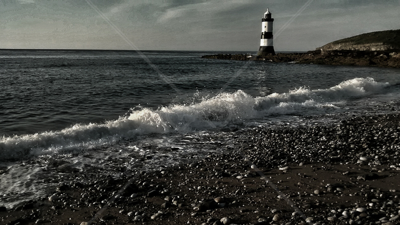Penmon Lighthouse by Geoff Owen - C