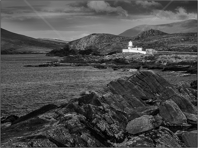 Valentia Lighthouse by Ian Griffiths - 3rd (Int mono)