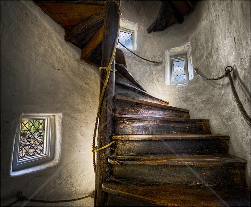 Turret Stairway by Hugh Stanton - C (Adv)
