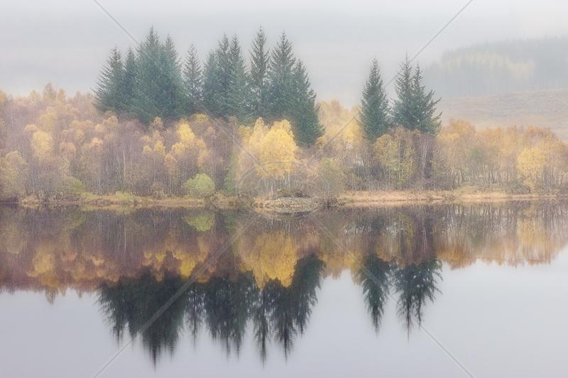 Loch Garry Island by Irene Froy - C (PRINT)
