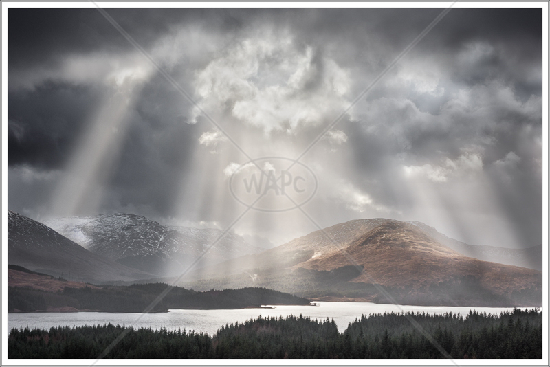 Storm Light over Loch Tulla by Jon Baker - 2nd (PRINT)