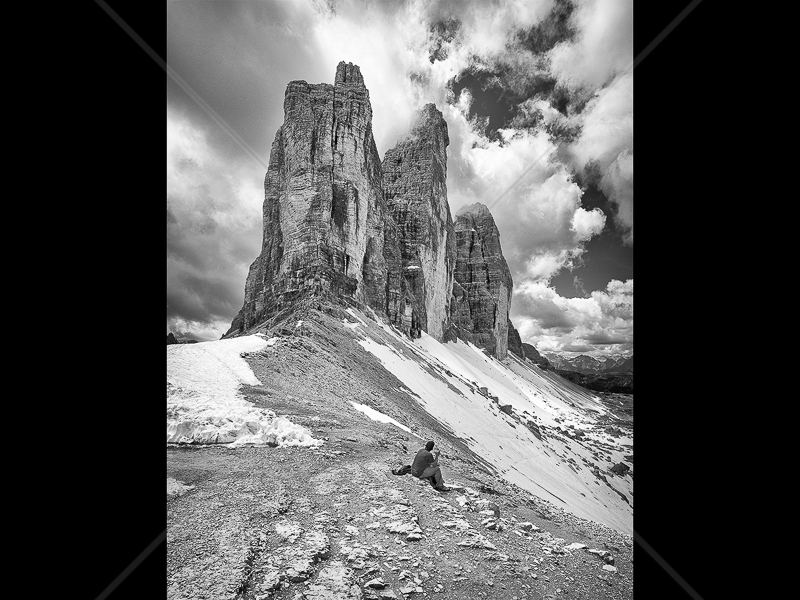 Tre Cima Di Lavaredo by Howard Holden - C (PRINT)