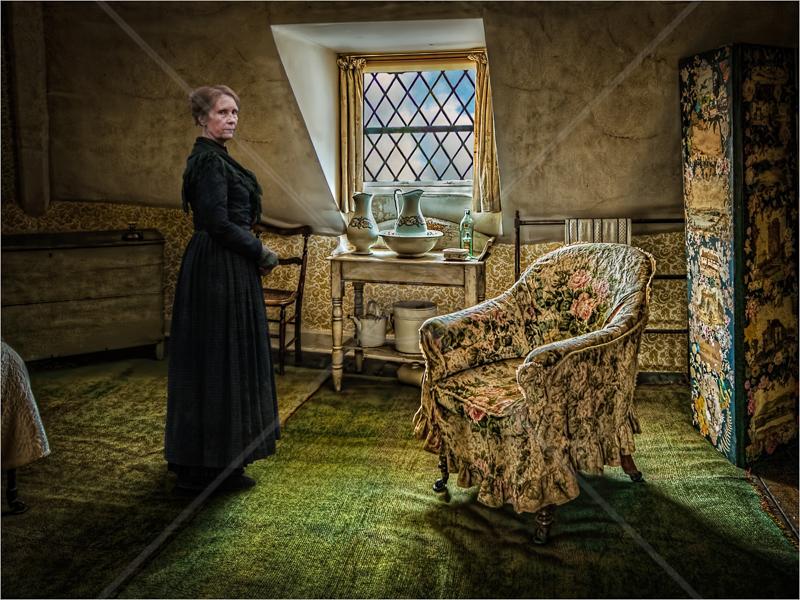 The Landlady by Hugh Stanton - 3rd (Adv Col)