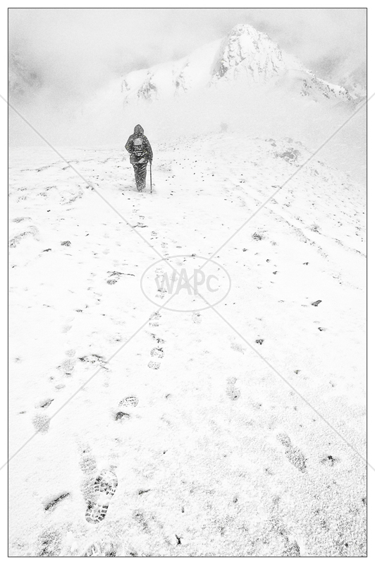 Winter Ascent by Jon Baker - C (Adv mono)