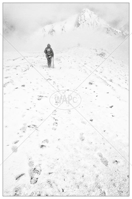 Winter Ascent by Jon Baker - C (Adv mono)