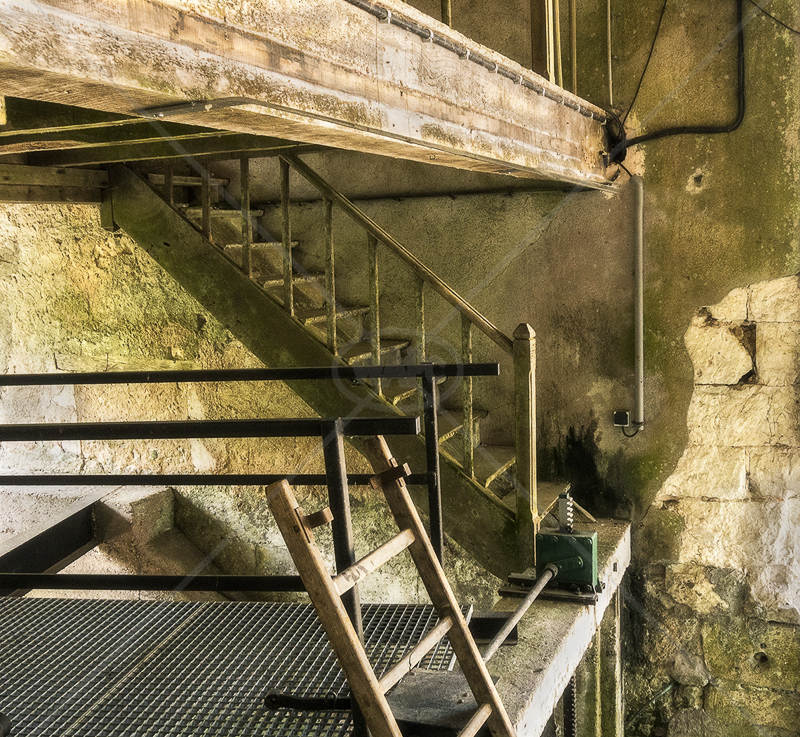 Watermill Stairway by Gerry Froy - C (Int col)