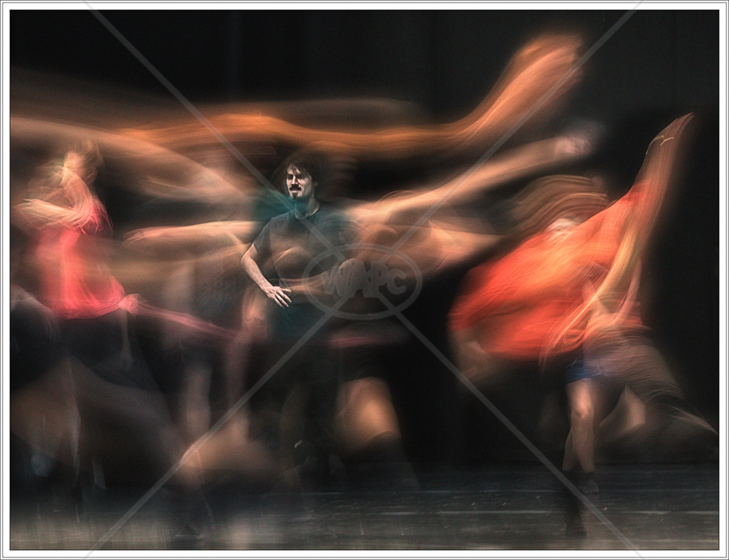Ghost Dancers (The National Dance Company of Wales) by Jon Baker - HC (Adv Col)