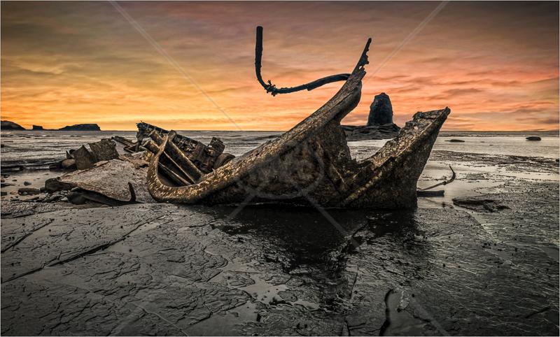 Saltwick Bay by Hugh Stanton - C (Adv)