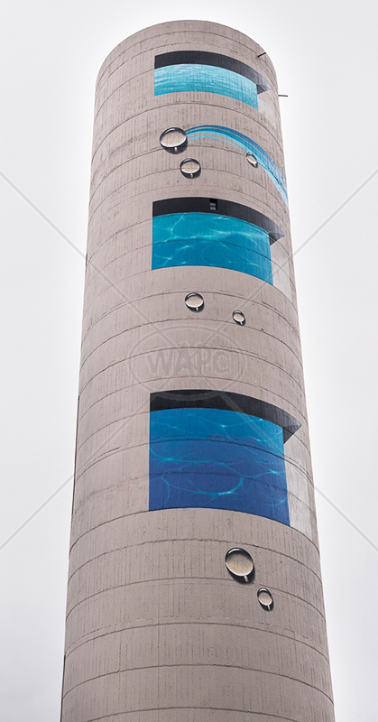 Water Tower by Gerry Froy - C (Int col)