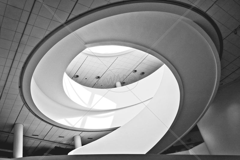 Spiral Stair by Peter Hodgkison - 1st (Int mono)
