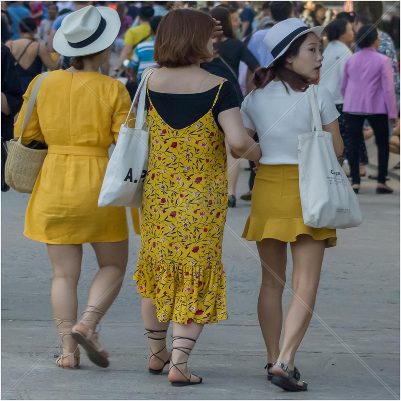 Ladies in Yellow by Andy Yardley - C (int)