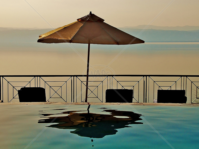 Tranquilty - Dead Sea, Jordan by Andy Udall - 1st (int)