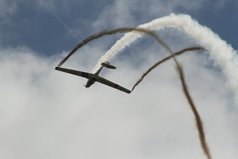 Trailing Smoke by Ian Burton - C (Int)
