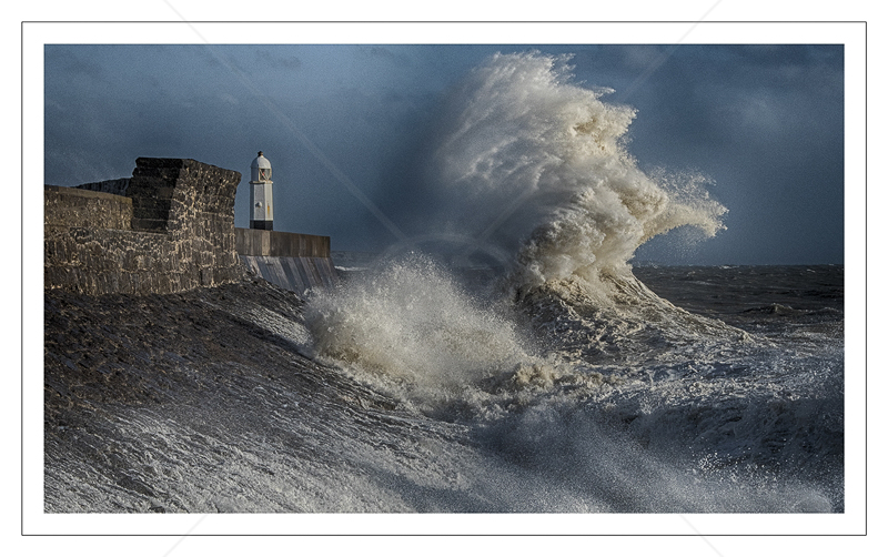 Porthcawl Storm Surge by Alan Lees - C (print)