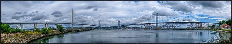 Three Bridges by Ian Griffiths - C (PDI)