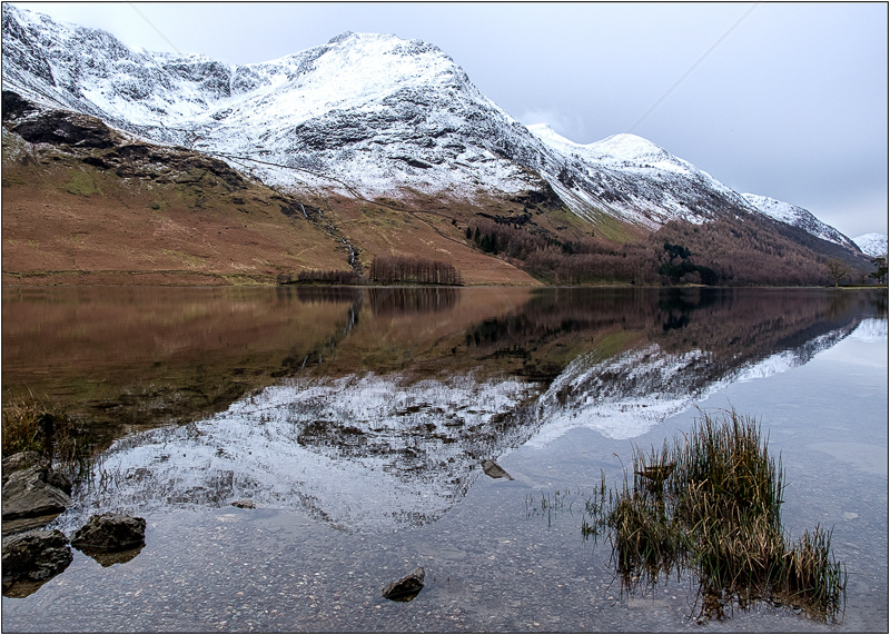 Buttermere Reflection by Ian Griffiths - C (Int col)