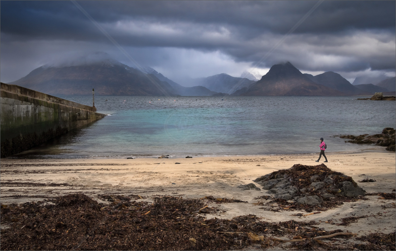 Elgol Harbour by Hugh Stanton - C (Adv)