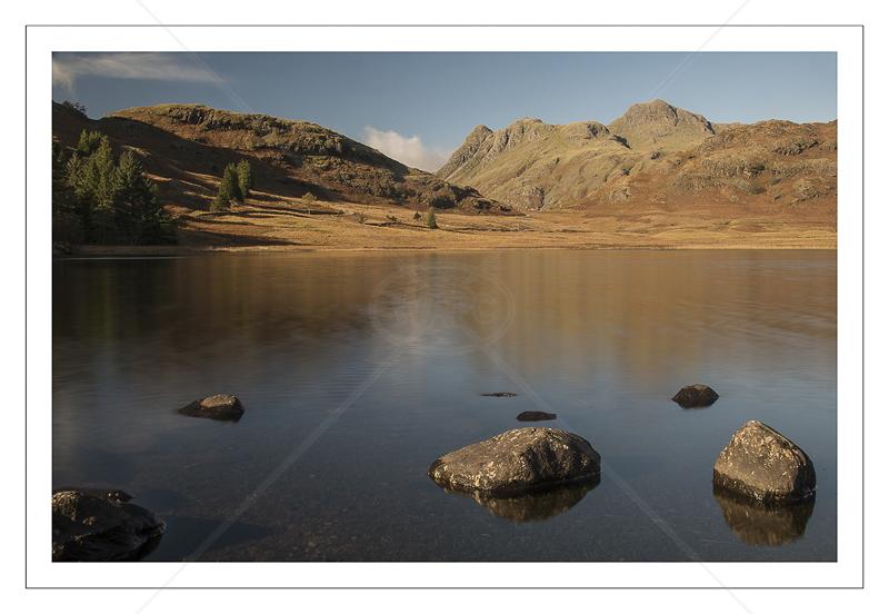 Langdale Fells from Blea Water by Alan Lees - C (Adv col)