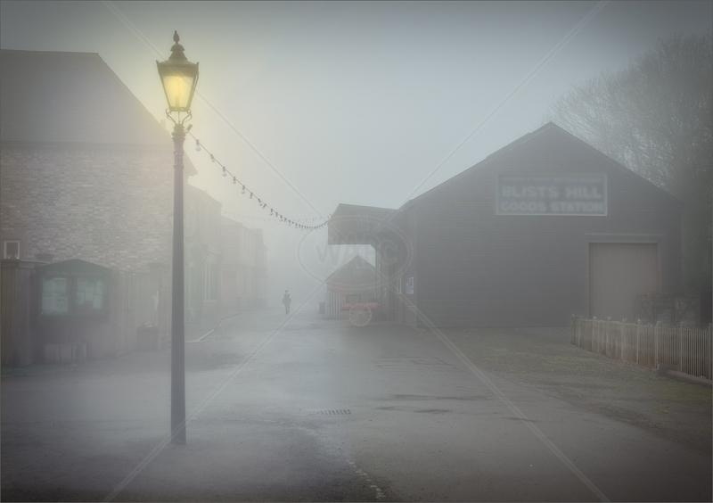 Museum Mist by Hugh Stanton - 1st (Adv col)