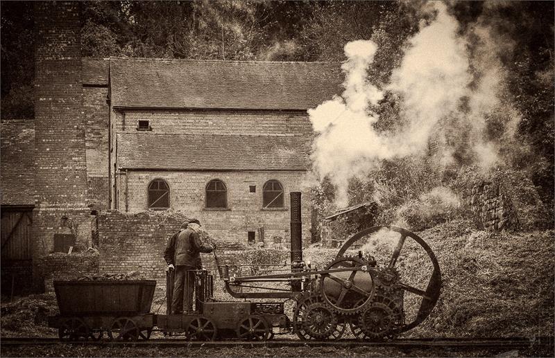 The Engine Works by Hugh Stanton - C (Adv mono)