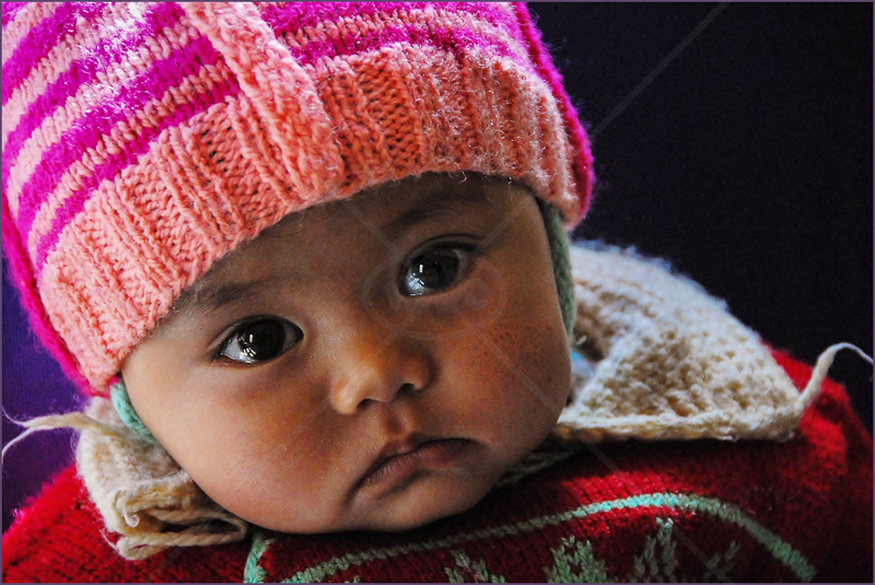 Little Munchkin, Ladakh, India by Andy Udall - C (Int)