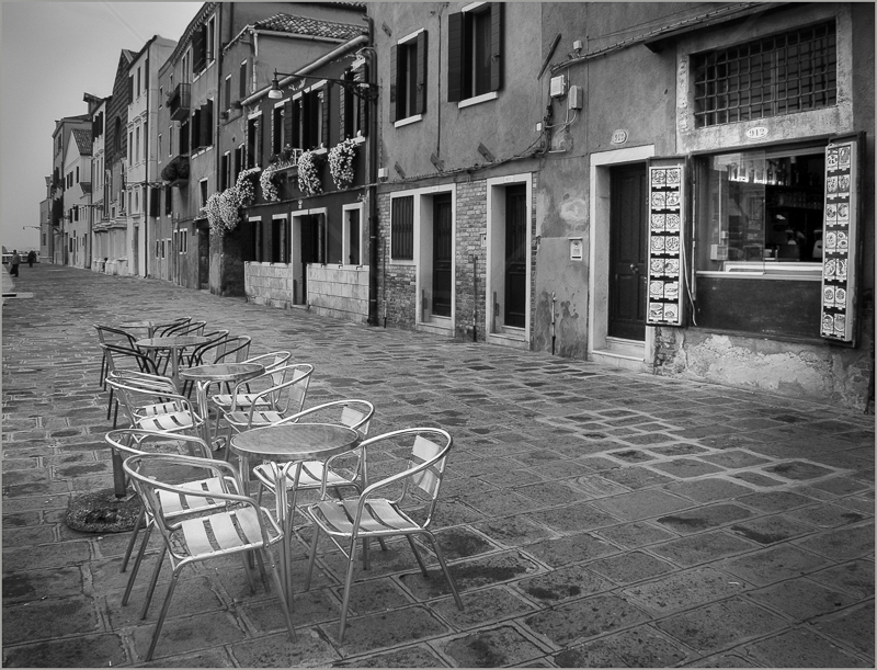 Waiting in Hope, Venice by Andy Udall - C (Int)