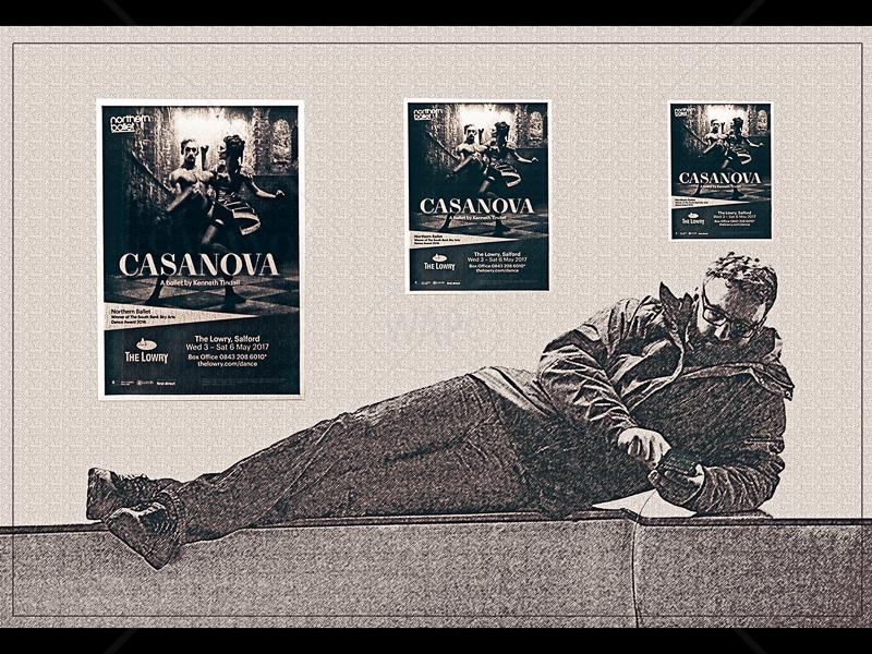 Casanova by Ruth Holden - 1st (Int mono)