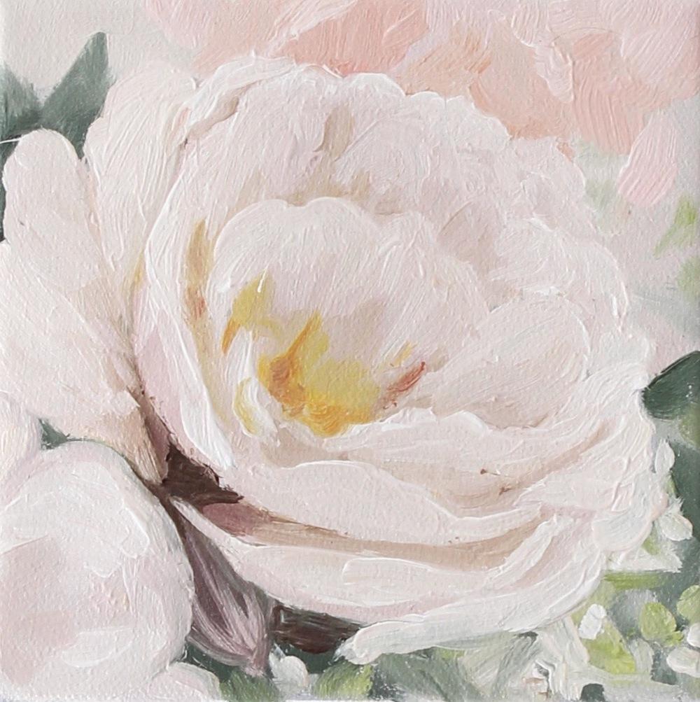 """Spring Blossom I"" painting by Jess Blazejewski"