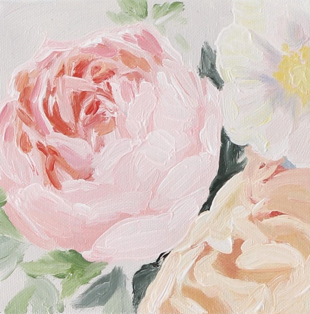 """""""Spring Blossom III"""" painting by Jess Blazejewski"""