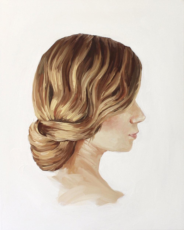 """""""Jennie Kay Hairstyle II"""" by Jess Blazejewski"""