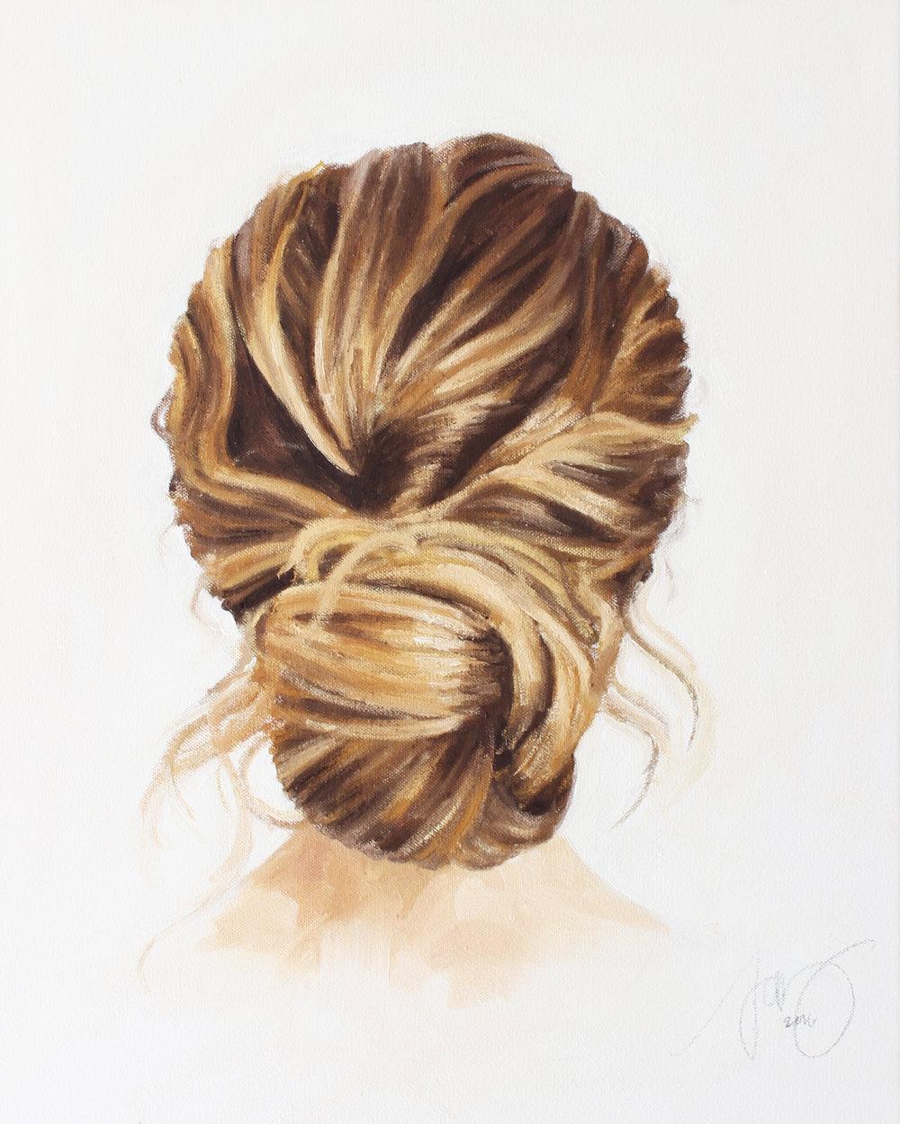 """""""Jennie Kay Hairstyle I"""" by Jess Blazejewski"""