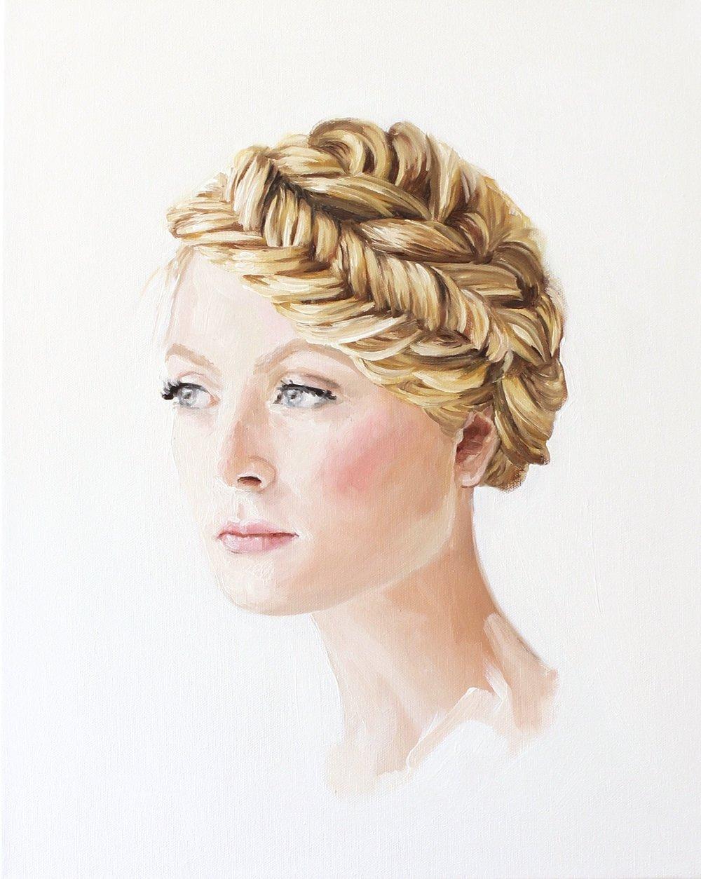 """""""Jennie Kay Hairstyle III"""" by Jess Blazejewski"""