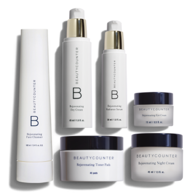 I use this morning and night. This kit includes cleanser, serum, eye cream and day and night moisturizers.