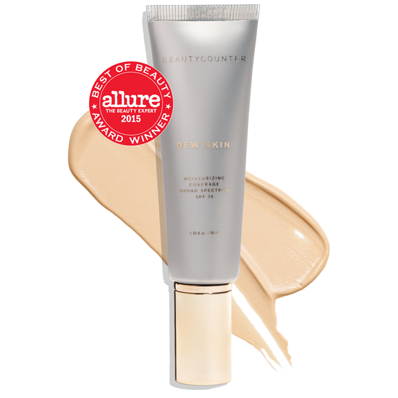 I love this tint. It is very light but it gives me a healthy glow. It also includes SPF 20.