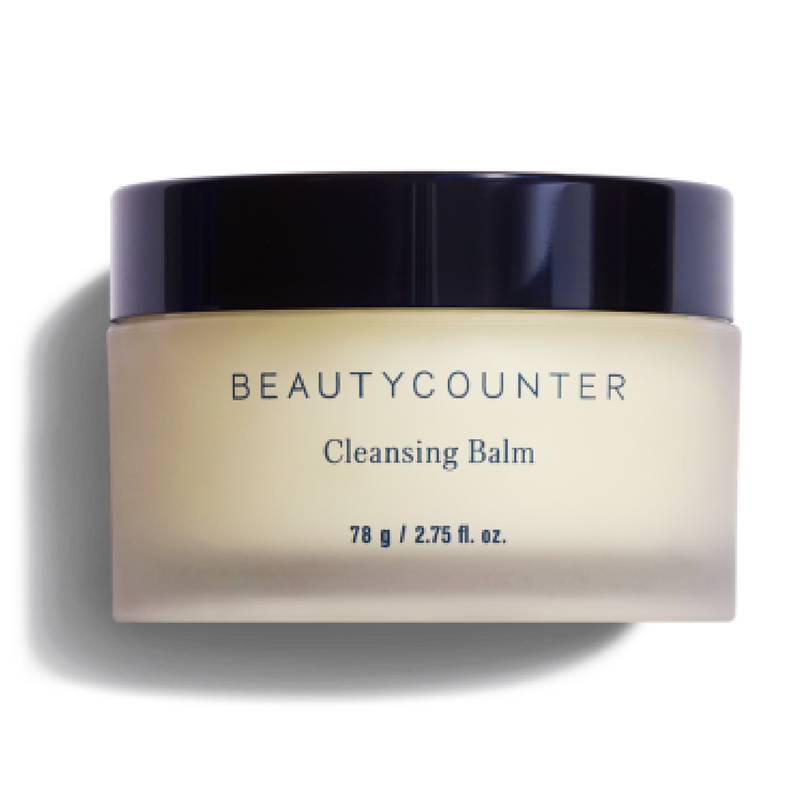 This cleansing balm is great to remove your makeup at night. It also helps remove spots.