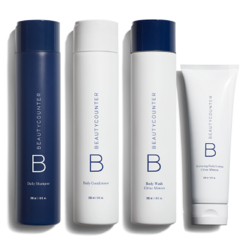 I only use BC bath and body collection. My skin is soft and my hair is shiny.