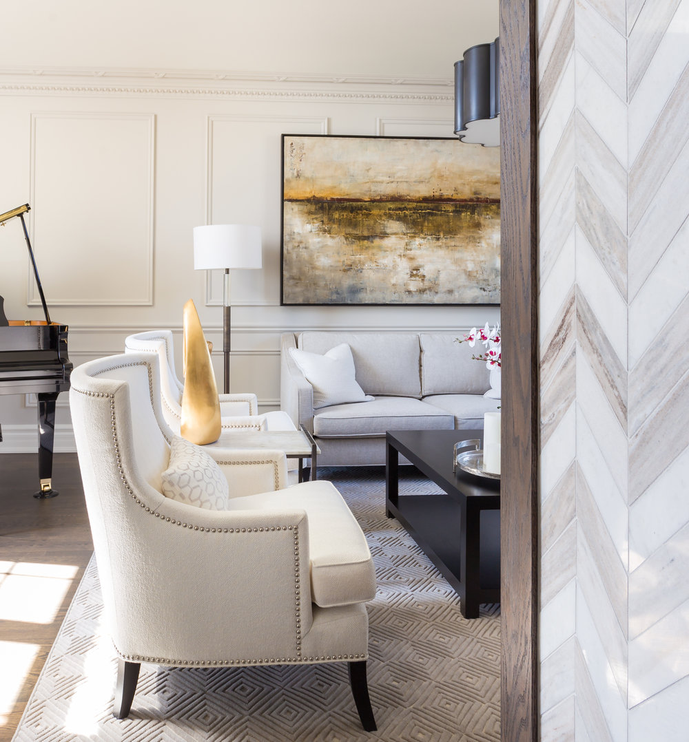 oakville-interior design-living room-custom-sofa-robson hallford