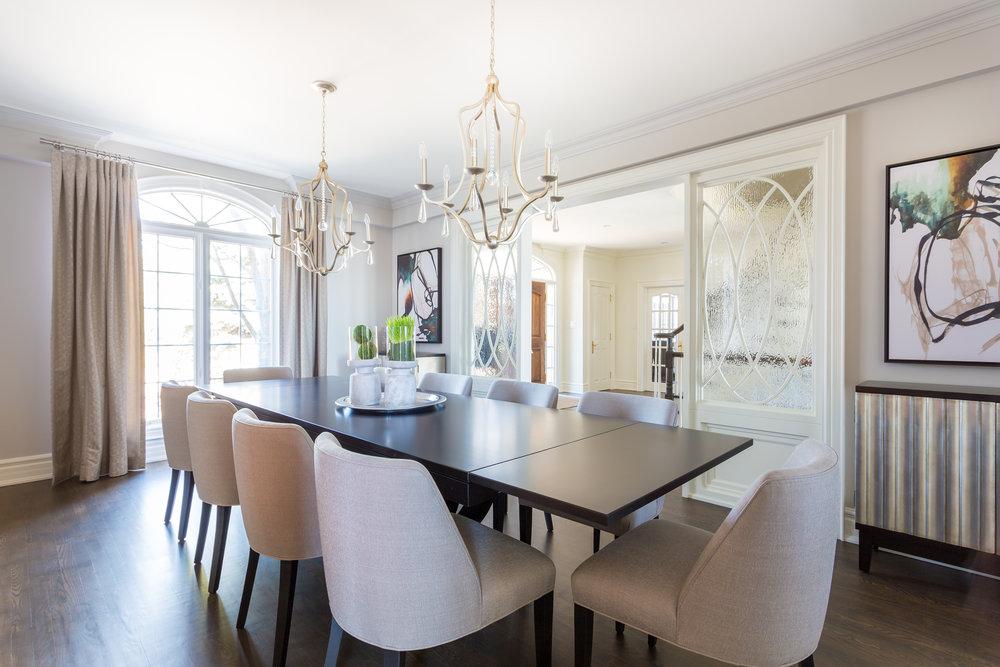 oakville-interior design-dining room-table-robson hallford