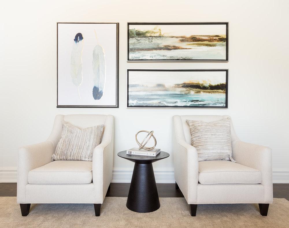oakville-interior design-family room-art-furniture-robson hallford