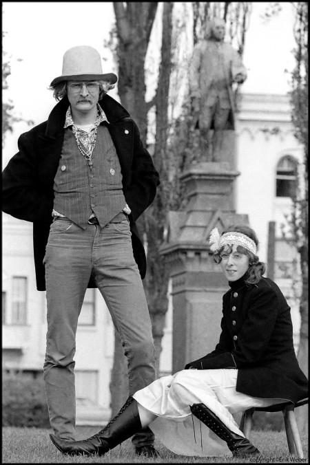 Richard Brautigan and Michaela le Grand, 1967