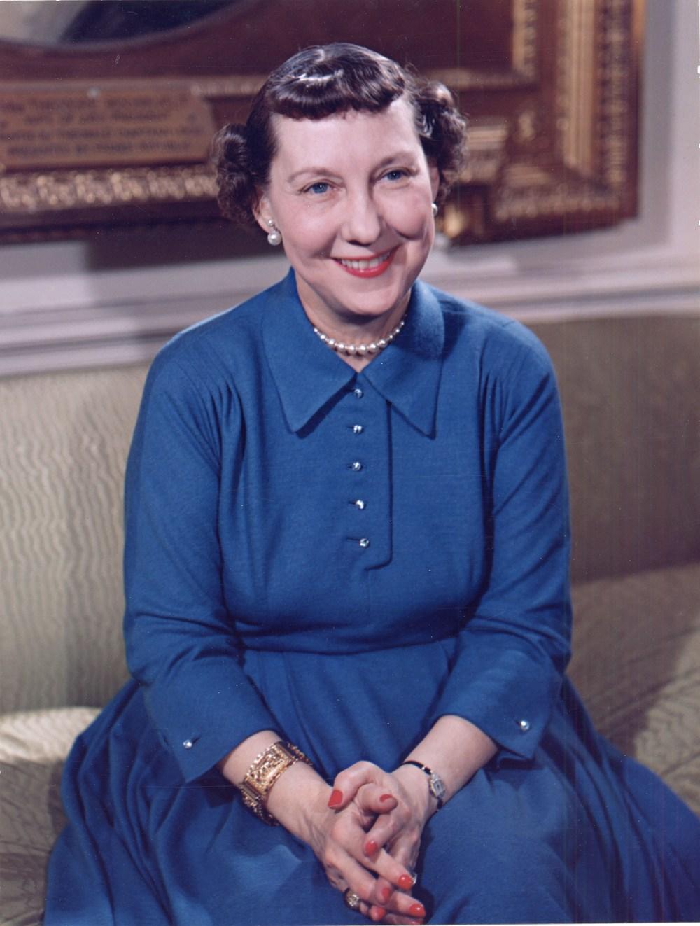 Mamie Eisenhower, 1954