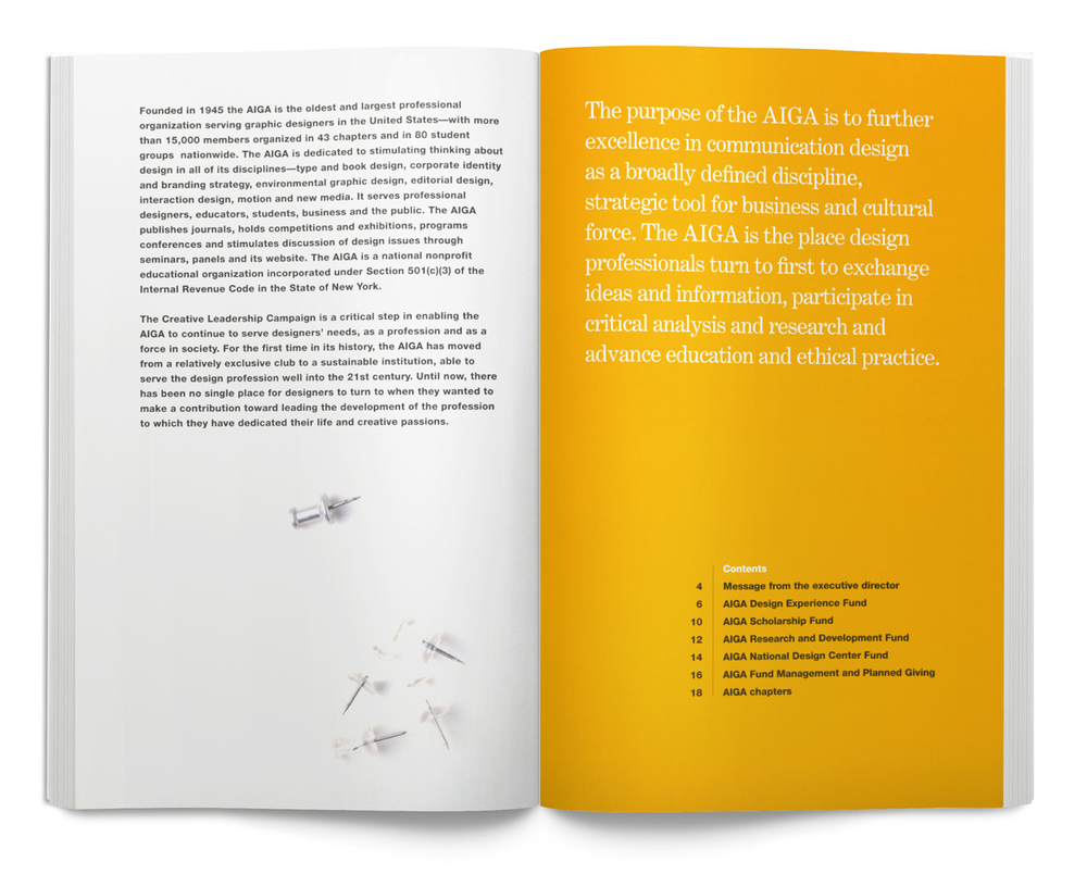AIGA Creative Leadership Booklet
