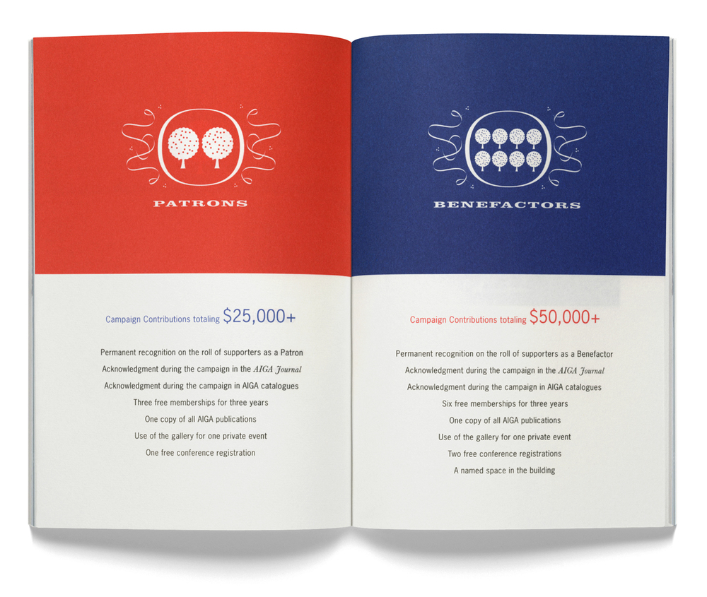 AIGA Capital Campaign Book