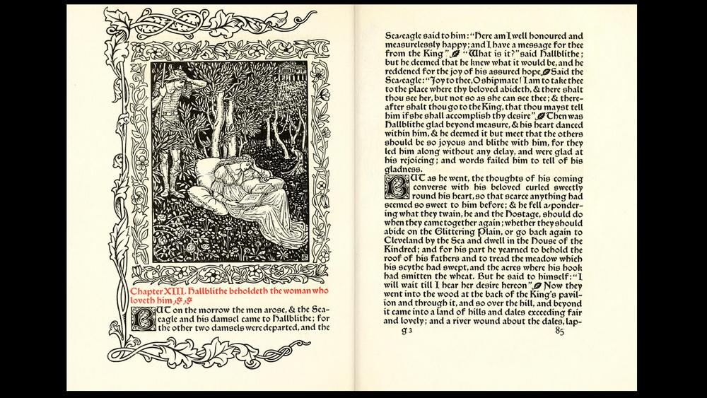 William Morris, 1892