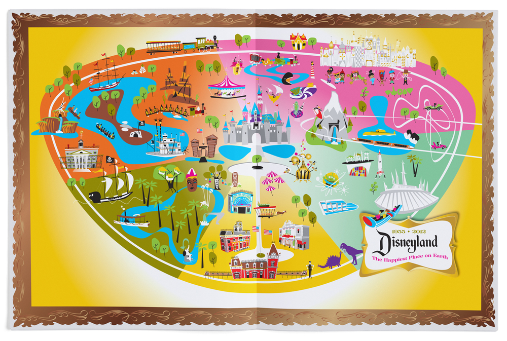Sean Adams: Disneyland Map
