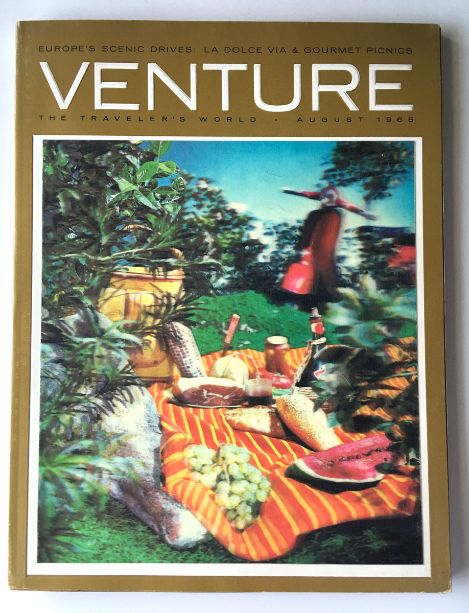 Lenticular image, Venture Magazine, 1965