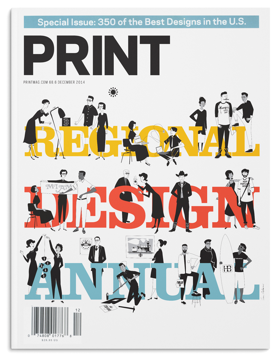 Sean Adams, Print