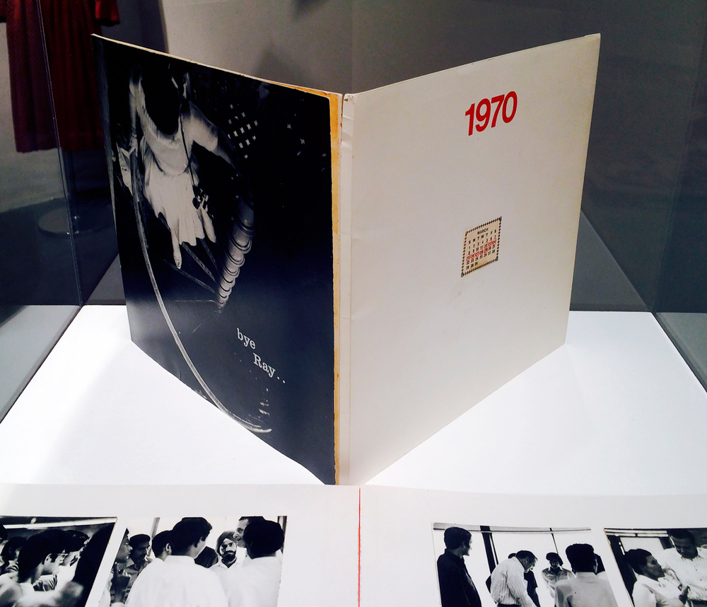 Ray Eames, handmade book