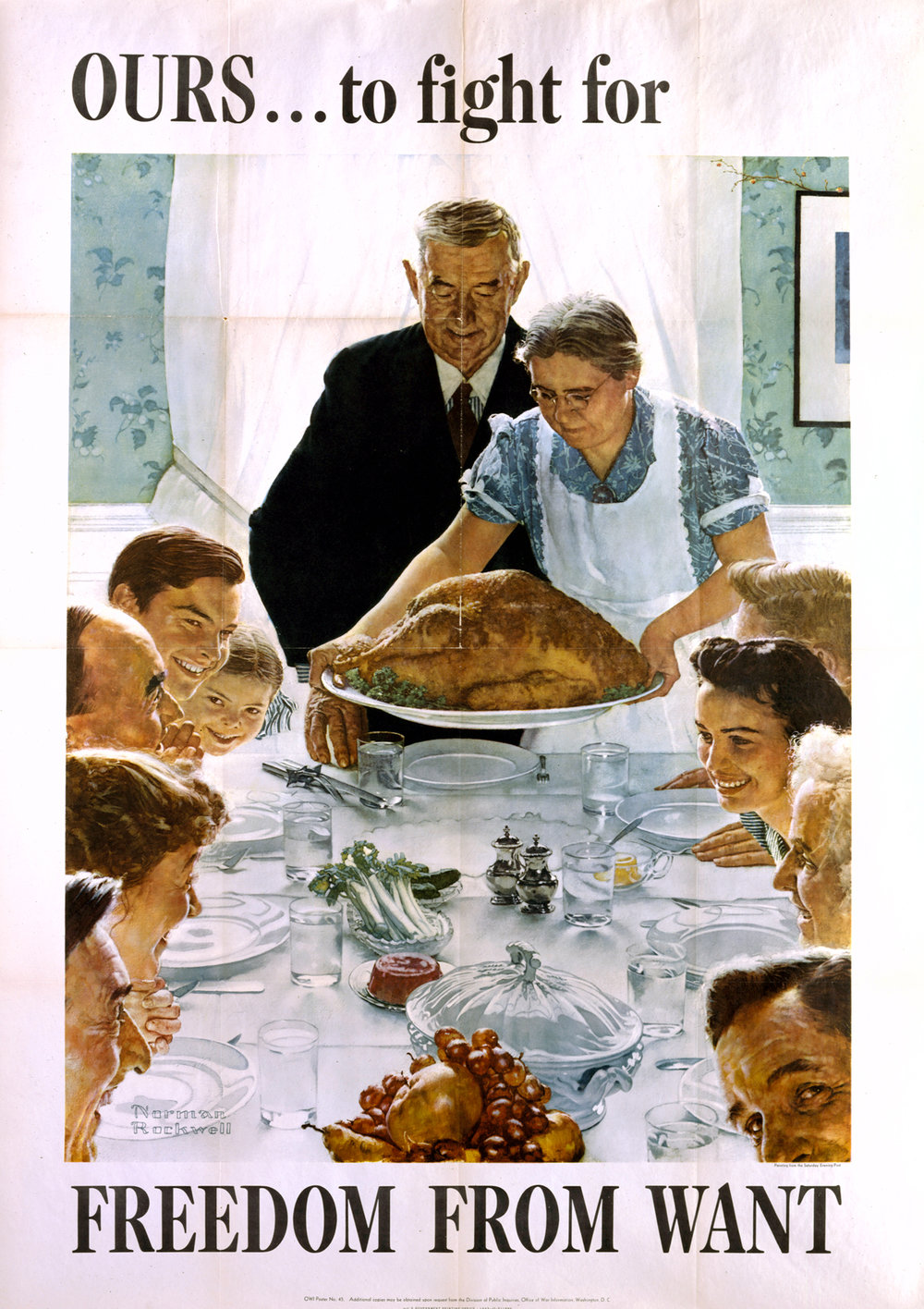 Norman Rockwell, Freedom from Want, 1943